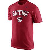 "Nike Men's Washington Nationals ""Natitude"" Red T-Shirt"