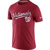 Nike Men's Washington Nationals Marled Red T-Shirt