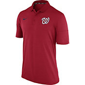 Nike Men's Washington Nationals Dri-FIT Red Polo