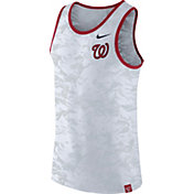 Nike Men's Washington Nationals Dri-Blend Premium White Tank Top
