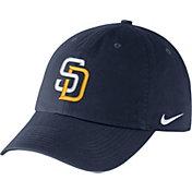Nike Men's San Diego Padres Dri-FIT Navy Heritage 86 Stadium Adjustable Hat
