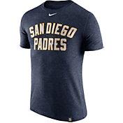 Nike Men's San Diego Padres Dri-Blend Navy DNA T-Shirt