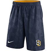 Nike Men's San Diego Padres Dri-FIT Navy Knit Shorts
