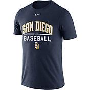 Nike Men's San Diego Padres Practice Navy T-Shirt