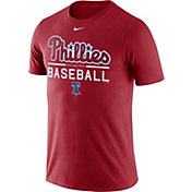 Nike Men's Philadelphia Phillies Practice Red T-Shirt