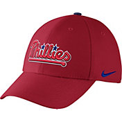 Nike Men's Philadelphia Phillies Dri-FIT Red Legacy 91 Swoosh Flex Hat