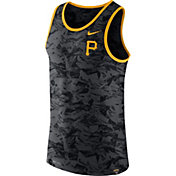 Nike Men's Pittsburgh Pirates Dri-Blend Premium Grey Tank Top