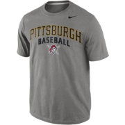Nike Men's Pittsburgh Pirates Practice Grey T-Shirt