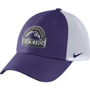 Nike Men's Colorado Rockies Dri-FIT Purple/White Heritage 86 Adjustable Hat