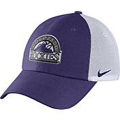 Nike Men's Colorado Rockies Dri-FIT Purple/White Heritage 86 Adjustable Hat