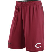Nike Men's Cincinnati Reds Dri-FIT Authentic Collection Red Performance Fly Shorts