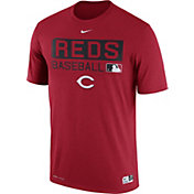 Nike Men's Cincinnati Reds Dri-FIT Authentic Collection Red Legend T-Shirt