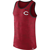 Nike Men's Cincinnati Reds Dri-Blend Premium Red Tank Top