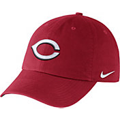 Nike Men's Cincinnati Reds Dri-FIT Red Heritage 86 Stadium Adjustable Hat