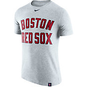 Nike Men's Boston Red Sox Dri-Blend White DNA T-Shirt