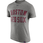 Nike Men's Boston Red Sox Dri-Blend Navy DNA T-Shirt