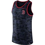 Nike Men's Boston Red Sox Dri-Blend Premium Navy Tank Top