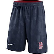 Nike Men's Boston Red Sox Dri-FIT Navy Knit Shorts
