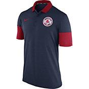 Nike Men's Boston Red Sox Dri-FIT Navy Polo