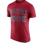 Nike Men's Boston Red Sox Dri-Blend Red DNA T-Shirt