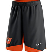 Nike Men's Baltimore Orioles Dri-FIT Authentic Collection Black Performance Shorts