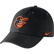 Nike Men's Baltimore Orioles Dri-FIT Black Heritage 86 Stadium Adjustable Hat