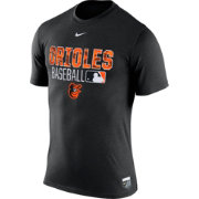 Nike Men's Baltimore Orioles Dri-FIT Authentic Collection Black Legend T-Shirt