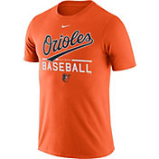 Nike Men's Baltimore Orioles Practice Orange T-Shirt