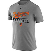 Nike Men's Baltimore Orioles Practice Grey T-Shirt