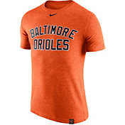 Nike Men's Baltimore Orioles Dri-Blend Orange DNA T-Shirt