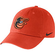 Nike Men's Baltimore Orioles Dri-FIT Orange Heritage 86 Stadium Adjustable Hat