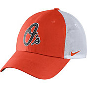 Nike Men's Baltimore Orioles Dri-FIT Orange/White Heritage 86 Adjustable Hat