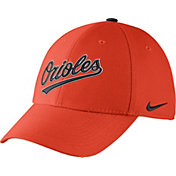 Nike Men's Baltimore Orioles Dri-FIT Orange Legacy 91 Swoosh Flex Hat
