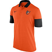 Nike Men's Baltimore Orioles Dri-FIT Orange Polo
