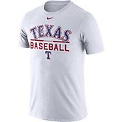 Nike Men's Texas Rangers Practice White T-Shirt