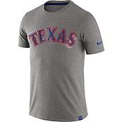 Nike Men's Texas Rangers Marled Grey T-Shirt
