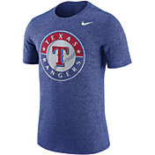 Nike Men's Texas Rangers Marled Royal T-Shirt