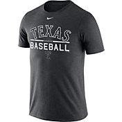 Nike Men's Texas Rangers Practice Charcoal T-Shirt