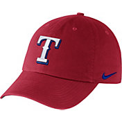Nike Men's Texas Rangers Dri-FIT Red Heritage 86 Stadium Adjustable Hat