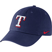 Nike Men's Texas Rangers Dri-FIT Royal Heritage 86 Stadium Adjustable Hat