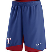 Nike Men's Texas Rangers Dri-FIT Authentic Collection Royal Performance Shorts