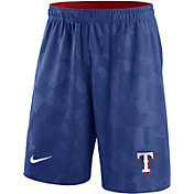 Nike Men's Texas Rangers Dri-FIT Royal Knit Shorts