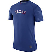 Nike Men's Texas Rangers Dri-FIT Authentic Collection Royal Performance T-Shirt