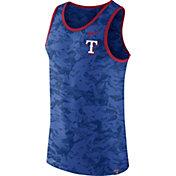 Nike Men's Texas Rangers Dri-Blend Premium Royal Tank Top