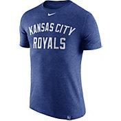 Nike Men's Kansas City Royals Dri-Blend Royal DNA T-Shirt