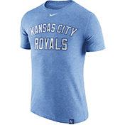 Nike Men's Kansas City Royals Dri-Blend Light Blue DNA T-Shirt