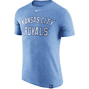 Nike Men's Kansas City Royals Dri-Blend Light Blue DNA T-Shirt