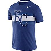 Nike Men's Kansas City Royals Dri-Blend Royal Local Stripes T-Shirt