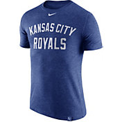 Nike Men's Kansas City Royals Dri-Blend Royal DNA T-Shirt