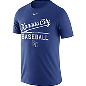 Nike Men's Kansas City Royals Practice Royal T-Shirt